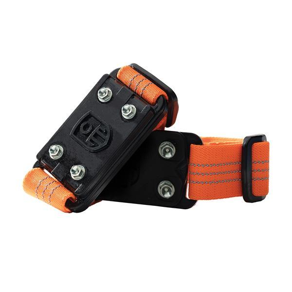 IMPACTO MIDCLEAT Anti-Slip Traction Cleats - Black/orange - One Size