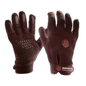 IMPACTO Anti-Vibration Mechanic's Air Glove - Black - Medium
