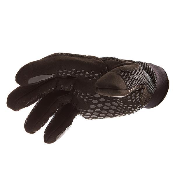 IMPACTO Anti-Vibration Mechanic's Air Glove - Black - Small