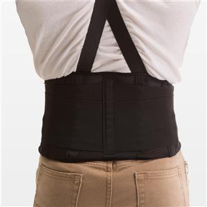 Impacto Back Coach Lumbar Support - Black - Large waist 36-42-in