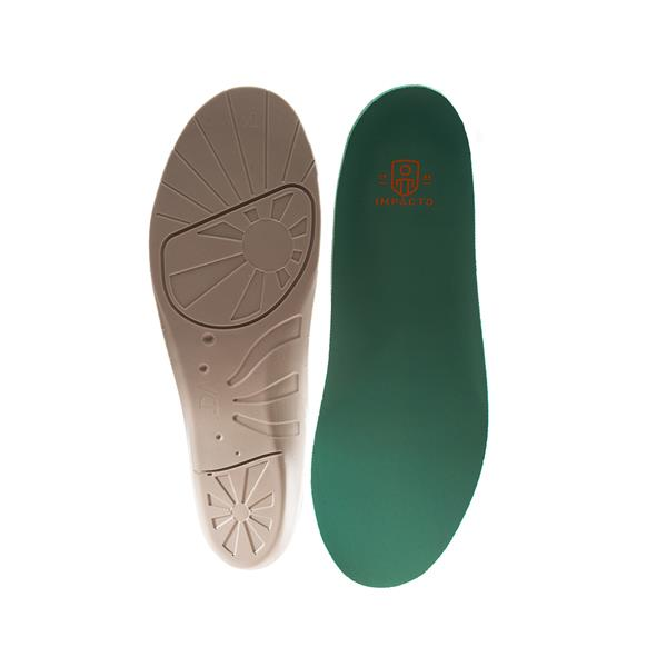 Impacto Anti-Fatigue Airsol Molded Insoles - Small - Green - Shoe size M5-6.5 W7-8.5