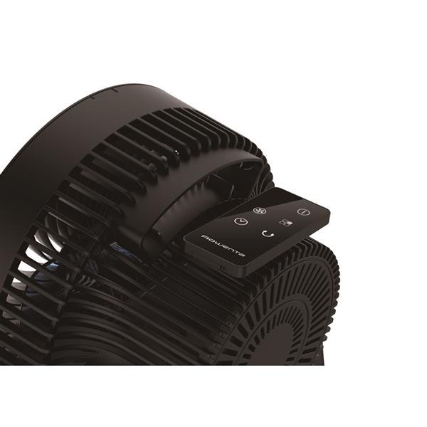 Ventilateur de table compact Rowenta, noir