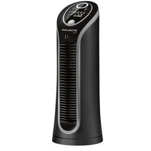 Rowenta Fresh Compact Tower Fan - 3 Air speeds - Black