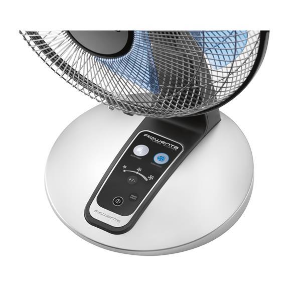 Ventilateur de bureau Turbo Silence Extreme, Rowenta, noir