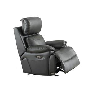FAMV New York Electric Reclining Armchair - USB Port -Dark Grey