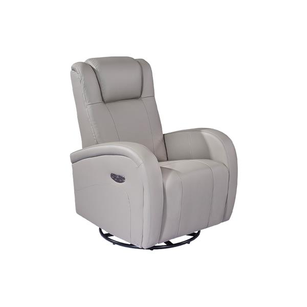 FAMV Marseille Reclining and Electric Armchair - Light Grey