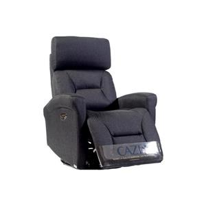 FAMV Barcelona Electric Rocking/Swivel/Recliner Chair - Charcoal