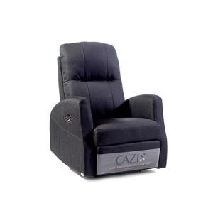 FAMV Athen Electric - Swivel - Recliner Chair - Charcoal