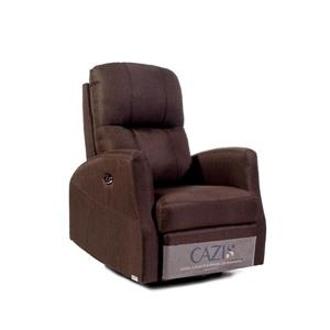 FAMV Athen Electric Rocking - Swivel - Recliner Chair - Chocolate