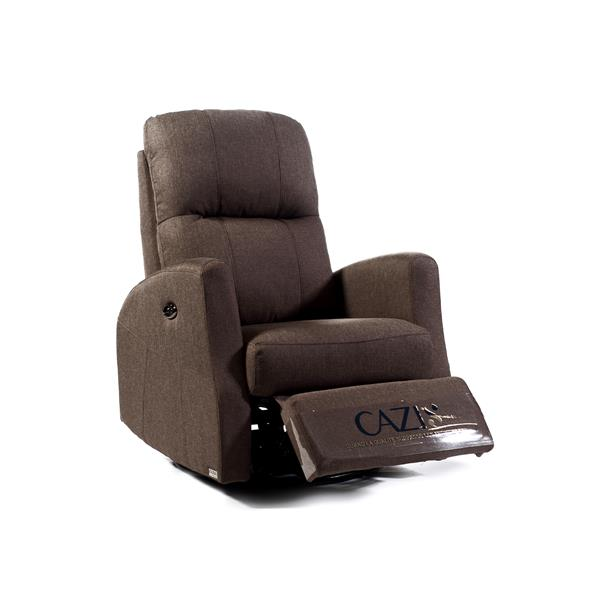 FAMV Athen Electric Rocking, Swivel and Recliner Chair - Coffee