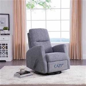 Fauteuil Athènes inclinable - gris