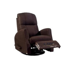 Fauteuil Athènes inclinable - chocolat