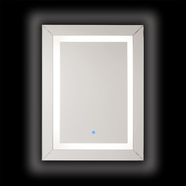 "Renin Modena LED Illuminated Mirror - Rectangular - 31.5"" x 23.5"""