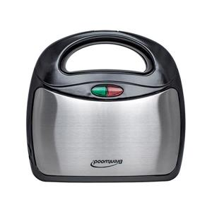 Brentwood Stainless Steel Sandwich Maker, Black