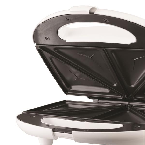 Brentwood Stainless Steel Sandwich Maker, White