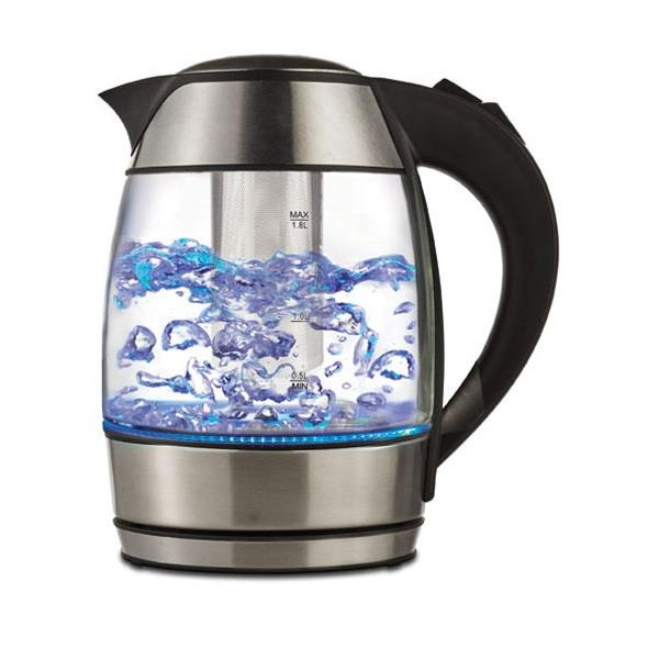 Brentwood Electric Kettle with Tea Infuser Black - 1.8 Liter