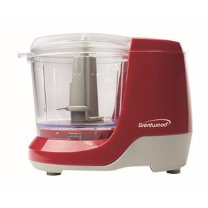 Brentwood Mini Food Chopper - 1.5 Cup - Red