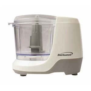 Brentwood Mini Food Chopper - 1.5 Cup - White