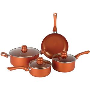 Brentwood Ceramic Cookware Set - 7-Piece