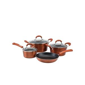 Hamilton Beach Copper Cookware Set - 7-Piece