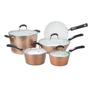 Hamilton Beach Copper Cookware Set -  9 Piece
