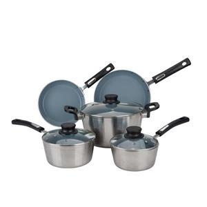 Hamilton Beach Aluminum Cookware Set - 8-Piece