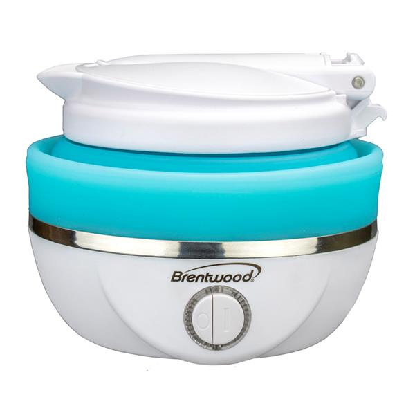 Brentwood Collapsible Travel Kettle - Blue - 0.8L
