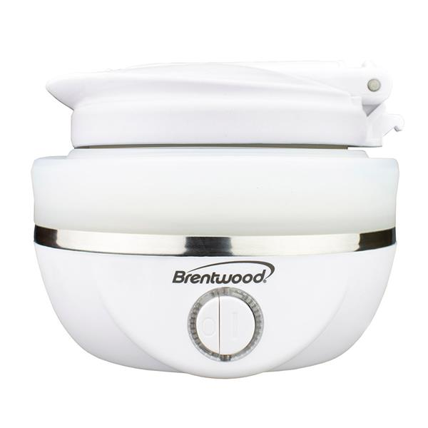 Brentwood Collapsible Travel Kettle - White - 0.8L