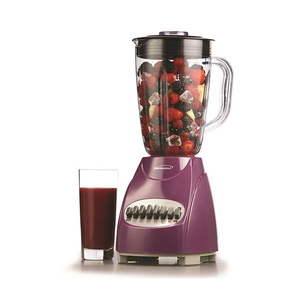 Brentwood Blender - 12 Speed -350 W - 50 ounce - Purple