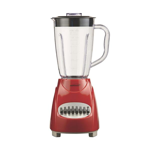 Brentwood Blender - 12 Speed - 350 W - 50 ounce - Red