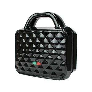 Brentwood Couture Purse Design Dual Waffle Maker - Black