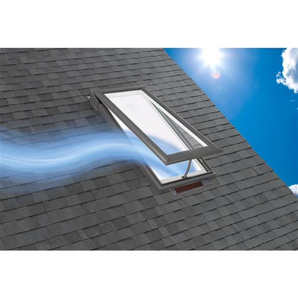 VELUX Solar Venting Deck Mount Skylight - 30.56-in x 30.5-in