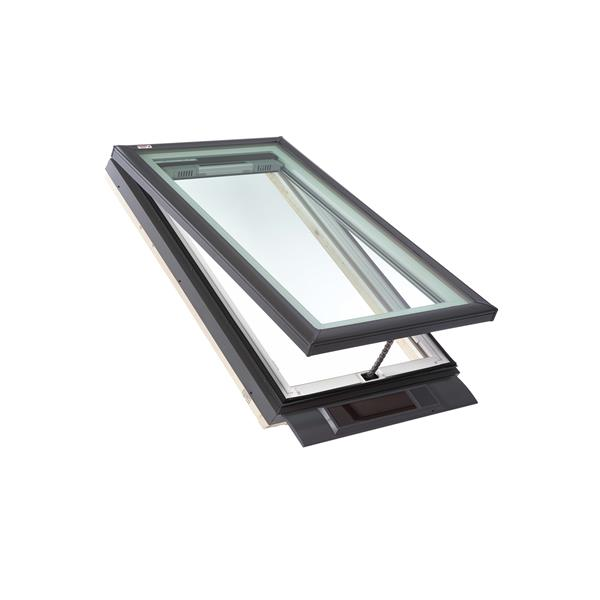 VELUX Solar Venting Curb Mount Skylight - 34.5-in x 34.5-in