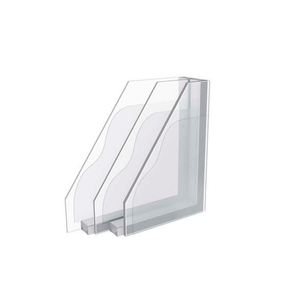 VELUX Fixed Curb Mount Skylight - Triple Pan - 22.5-in x 22.5-in