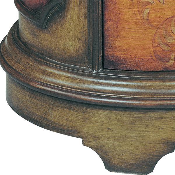 Stein World Natalie Side Table - 27.75-in - Brown