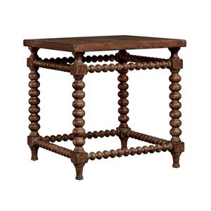 Stein World Balmanor Side Table - 26.5-in - Brown