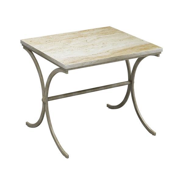 Stein World Sanibel Side Table - 23.5-in - Cream
