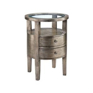 Stein World Lucan Side Table - 26-in - Brown