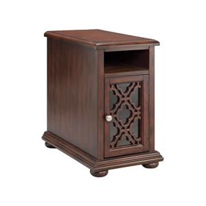 Stein World Beauvais Side Table - 24.38-in - Brown