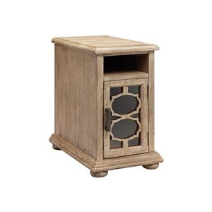 Stein World Bohema Side Table - 24.38-in - Aged Wood