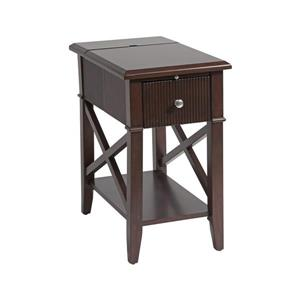 Stein World Baldwin Side Table - 23-in - Brown