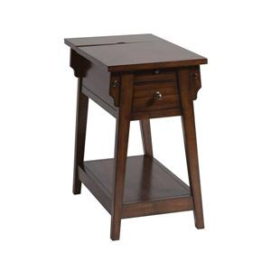 Stein World Morris Side Table - 23-in - Brown