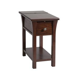 Stein World Walton Side Table - 23-in - Brown