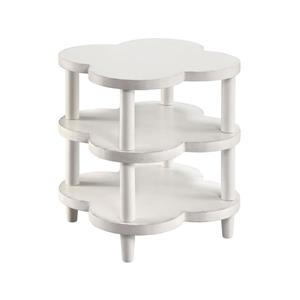 Stein World Juliette Side Table - 24-in - White