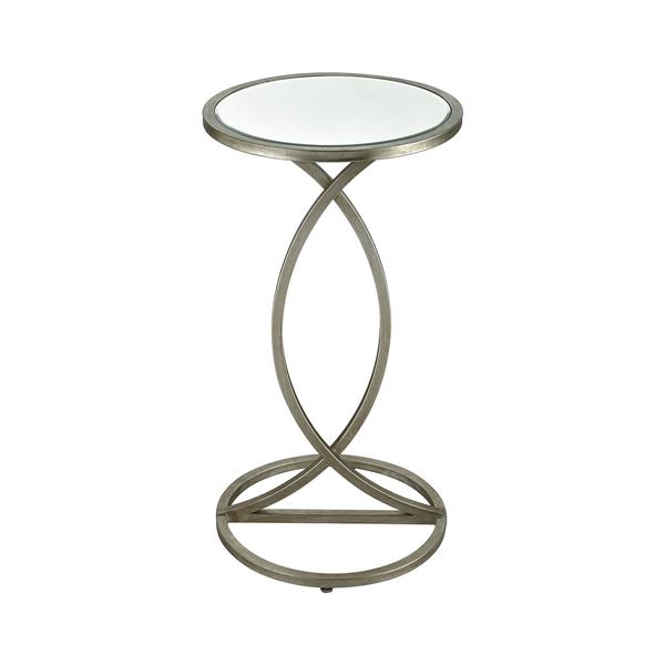 Stein World Side Table - 26-in - Silver Grey