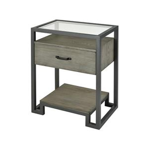 Stein World Mezzanine Side Table - 26-in - Grey