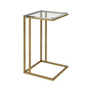 Stein World Hyperion Side Table - 26-in - Gold