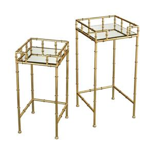 Stein World King Priam Side Table - 25.59-in - Gold
