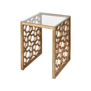 Stein World Clio Side Table - 24-in - Gold