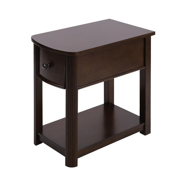 Stein World Reaburn Side Table - 23-in - Brown